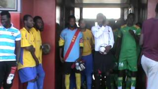 RD.CONGO VS  SENEGAL SCORE      : UN - TROIS