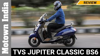 TVS Jupiter Classic BS6 | Review | Motown India