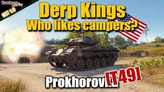 WOT: T49, Who like campers in WORLD OF TANKS?