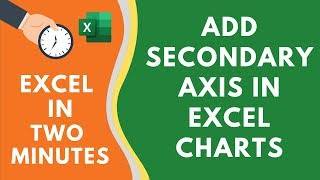 Add Secondary Axis in Excel Charts (in a few clicks)