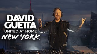 David Guetta - Live @ United at Home Fundraising Live from NYC 2020