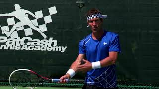 Fundamental Groundstroke Principles For Power & Control | Pat Cash Tennis