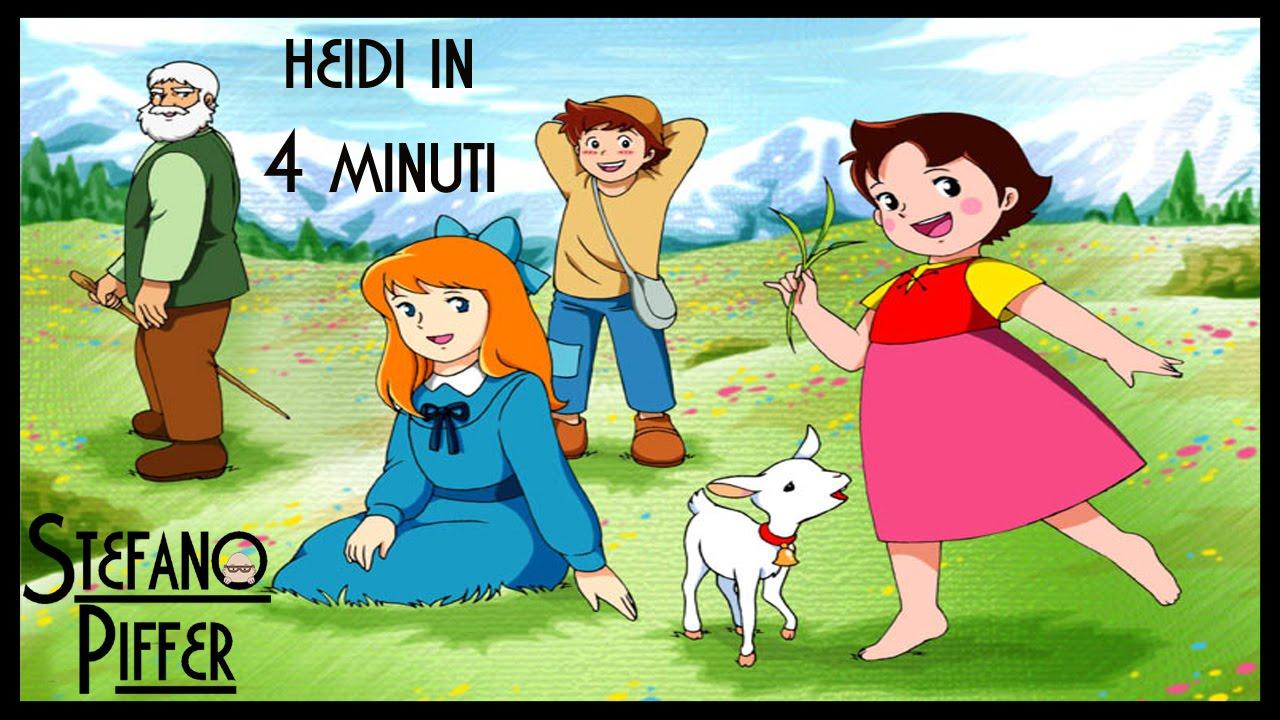 HEIDI in 4 minuti ★ Divertente riassunto e curiosità della serie