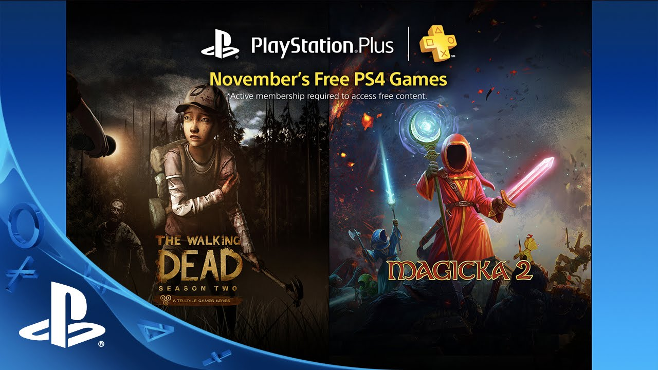 PS Plus: Free Games for November 2015