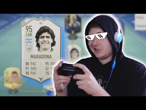 PROFÍCI HRAJÍ DRAFTY V KAPUCI... ft. Maradona