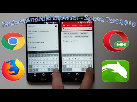 Download Fasted Android Browser 2018 Chrome Vs Firefox Vs