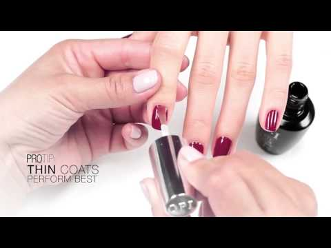 OPI Infinite Shine Tutorial