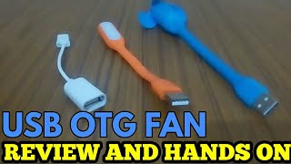 USB FAN FOR MOBILE - REVIEW AND UNBOXING
