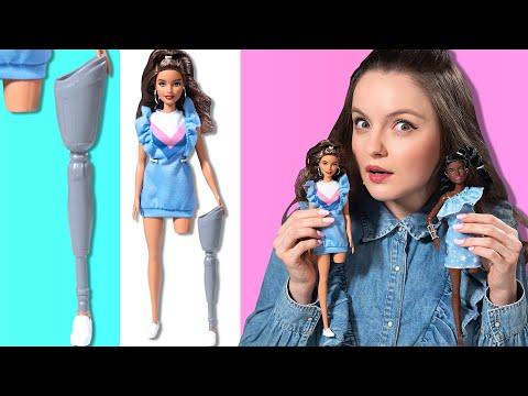 Барби с ПРОТЕЗАМИ ног | Barbie Fashionistas 121 и 146: обзор и распаковка