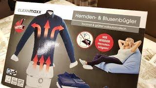 Cleanmaxx Hemdenbügler -- Test -- wie gut ist er wirklich ?