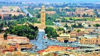 Landing in Marrakech Morocco 🇲🇦 Easyjet Full Approach Menara Airport