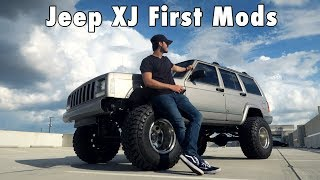 jeep xj mods म