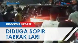 Detik-detik Mobil Fortuner Diamuk Massa di Pintu Tol Ciledug, Polisi Sebut Sopir Lakukan Tabrak Lari