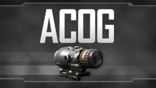 ACOG Sight - Black Ops 2 Attachment Guide