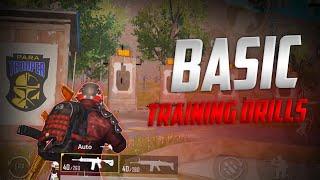 Pubg Mobile Basic Training Drills | Para Troopers