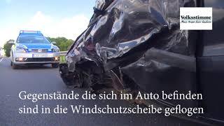 Verkehrsunfall bei Ziegenhagen