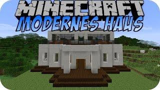Minecraft MODERNE VILLA Instant Structures Mod Most Popular - Minecraft hauser mit einem klick mod