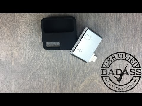 Increase your iPhone iPad Storage with this MicroSD Card Adapter