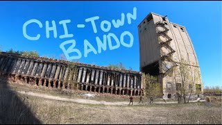 Chi-town Bando Acme Coke Plant Revisited bonus flight with a hawk - FPV Freestyle