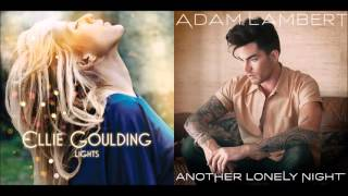 Another Lonely Light - Ellie Goulding vs. Adam Lambert (Mashup)
