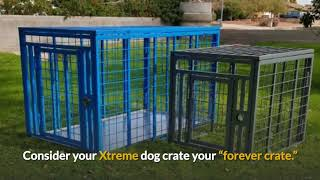 Carry My Dog | Escape Proof Indestructible Strongest Heavy Duty Dog Crates