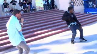 Aaron Fresh invades San Pedro High