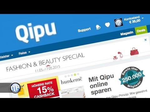 Qipu - Cashback / Geld zurück beim Onlinekauf! Lohnt sich das?