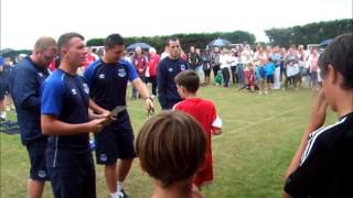 preview picture of video 'Awards Ceremony - Everton Soccer Camp 2014'