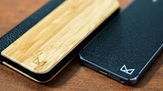 MOD-CASE Bamboo&Leather Folio Case For IPhone 5s/5 Review