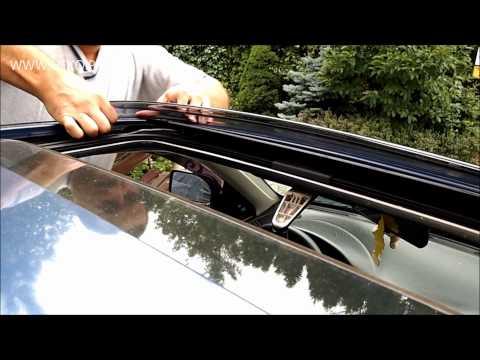 Instrukcja montażu owiewki szyberdachu HEKO | How to install sunroof windscreen HEKO