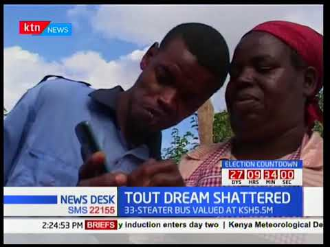 Mentally handicapped tout's dream to own a Kshs 5.5 million 33-seater bus shattered