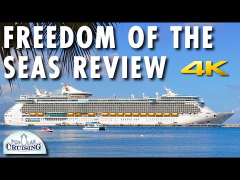 Freedom of the Seas Tour & Review ~ Royal Caribbean International ~ Cruise Ship Review [4K Ultra HD]