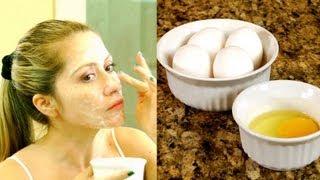 Anti-aging Beauty Secret - Egg White & Egg Yolk Mask