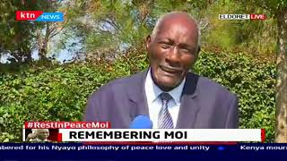 Jackson Kibor Eulogizes Moi, describe him as a statesman and a friend of Kenya