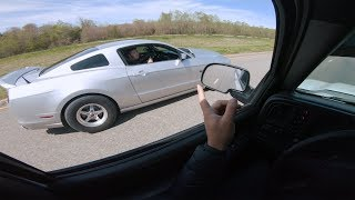 Blown Mustang did NOT expect this from a TRUCK!!