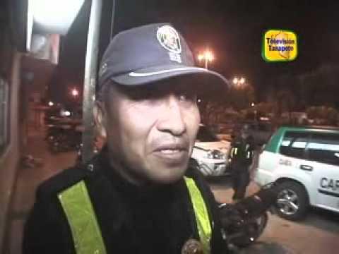 TELEVISION TARAPOTO RECUPERAN LAPTOP EN MENOS DE 24 HORAS DE HABER SIDO ROBADA.flv