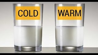 Warm water or Cold water.  What's Best?