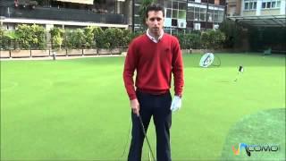 La correcta posición para jugar a golf - Muy útil