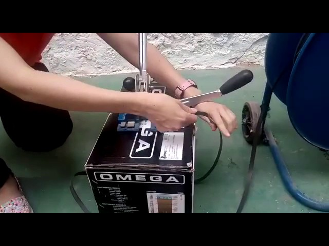 Video FLEJADORA MANUAL SIPAC UP-160 SIESA REF.2401