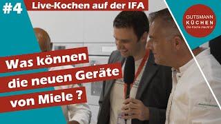 Miele Backofen der Serie 7000 + Induktionskochfeld + Dunstabzugshaube vorgestellt auf der IFA Berlin