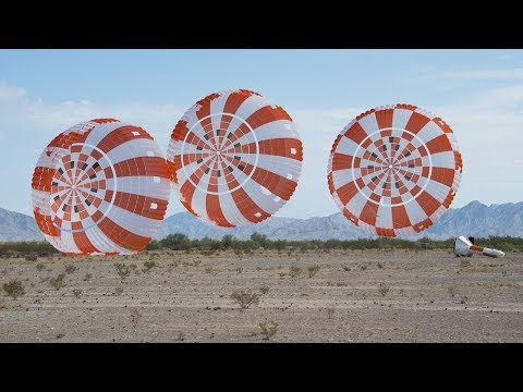 Successful Parachute Test for Orion on This Week @NASA – July 20, 2018