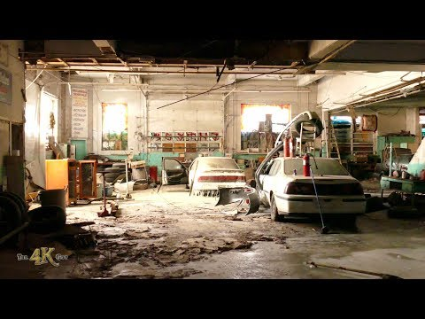 Urbex: Inside an abandonned car repair shop on the Plateau in Montreal