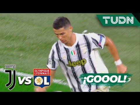 ¡GOOL! Aparece Cristiano  | Juventus 1-1 Lyon | Champions League 2020 – Octavos final | TUDN