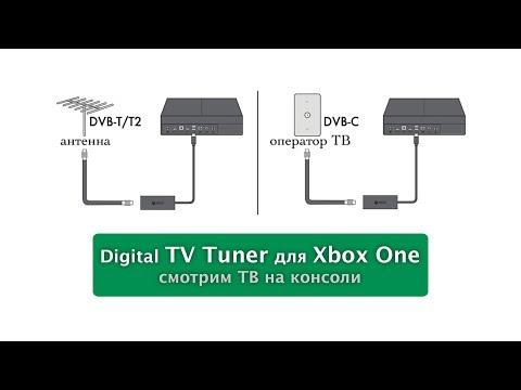 Настройка Digital TV Tuner для Xbox One (ТВ тюнер)