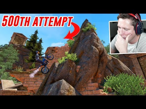 I tried an EXTREME difficulty track... (Trials Rising)