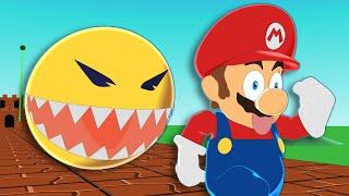 Monster Pacman vs Super Mario