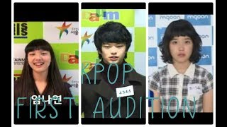 KPOP IDOLS FIRST AUDITION