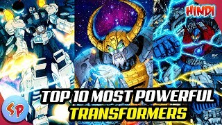 Top 10 Most Powerful Transformers | Explained in Hindi | Transformers Movies