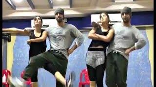 Katrina Kaif And Ranbir Kapoor Dance Practice Video For Ullu Ka Pattha Song
