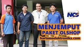 PROSES PICK UP PENGIRIMAN TOKO ONLINE HARTONO by NCS